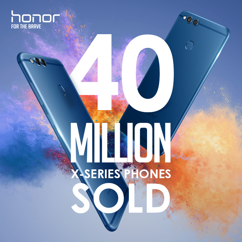A Honor X-sorozatából 40 millió fogyott eddig