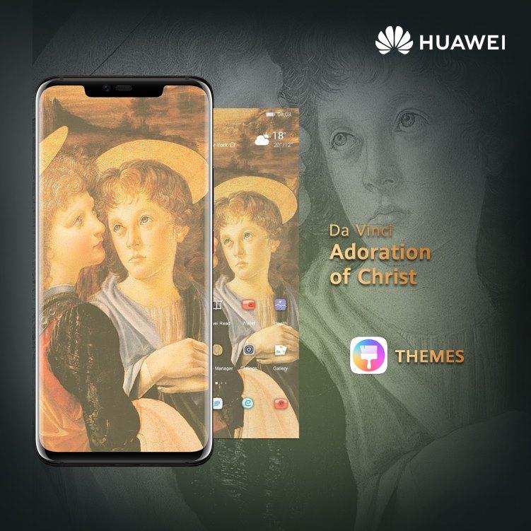 Honor EMUI Da Vinci téma