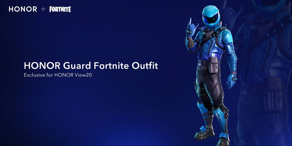 Honor View20: 60 fps és extra skin a Fortnite-ban