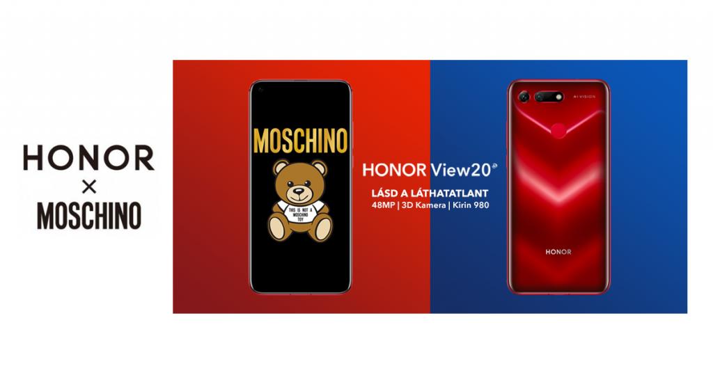 Magyarországra jön a Honor View20 Moschino kiadás