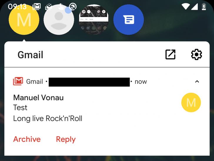Chatfejhez hasonló értesítések jöhetnek az Androidban Q-ban