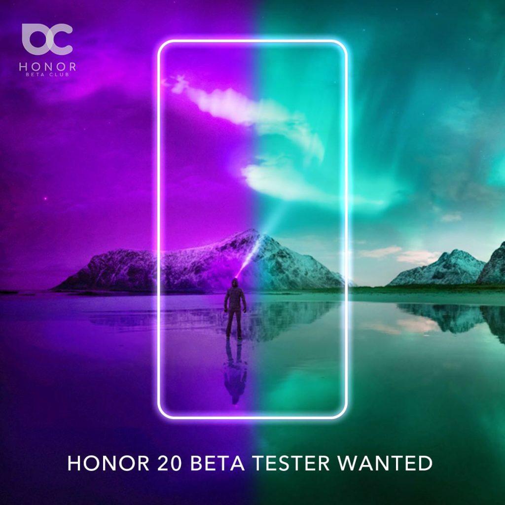 Jelentkezz, hogy tesztelhesd a Honor 20 Szériát