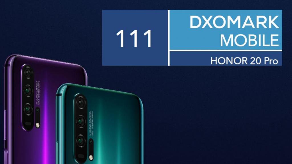 Honor 20 Pro DxOMark eredményHonor 20 Pro DxOMark eredmény