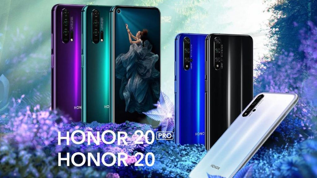Honor 20 Honor 20 Szériaria