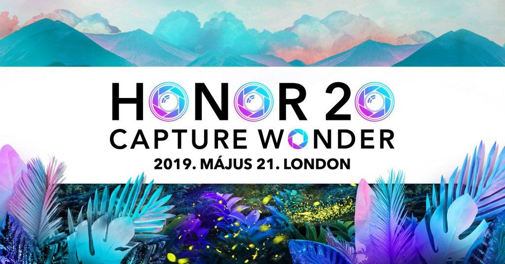 Honor 20 Széria élő videós közvetítés