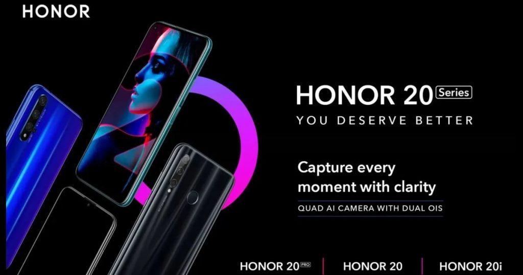 Indiában is elérhetővé válik a Honor 20 Széria
