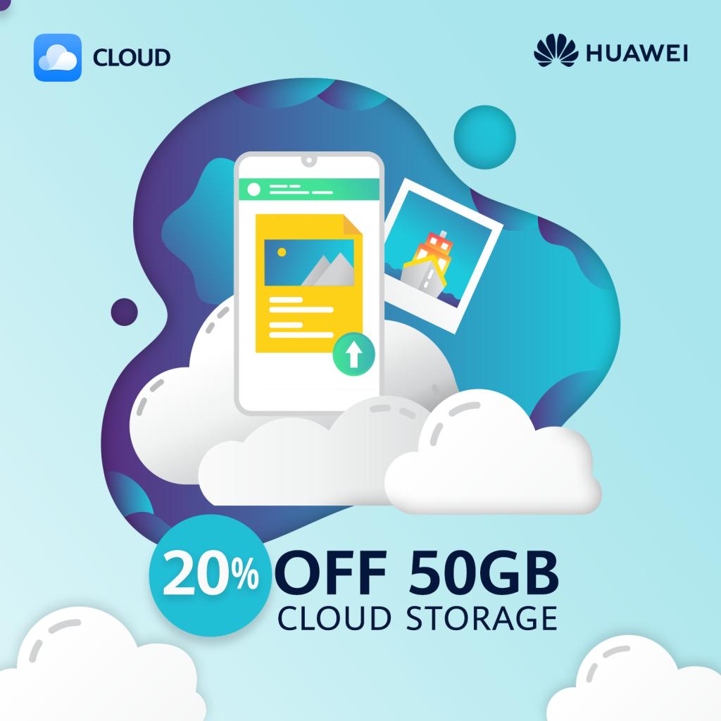 Akciós az 50 GB-os Cloud előfizetés Honorokra
