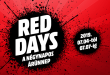 Honor akciók a MediaMarkt Red Days során