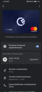 Curve a Google Pay-ben