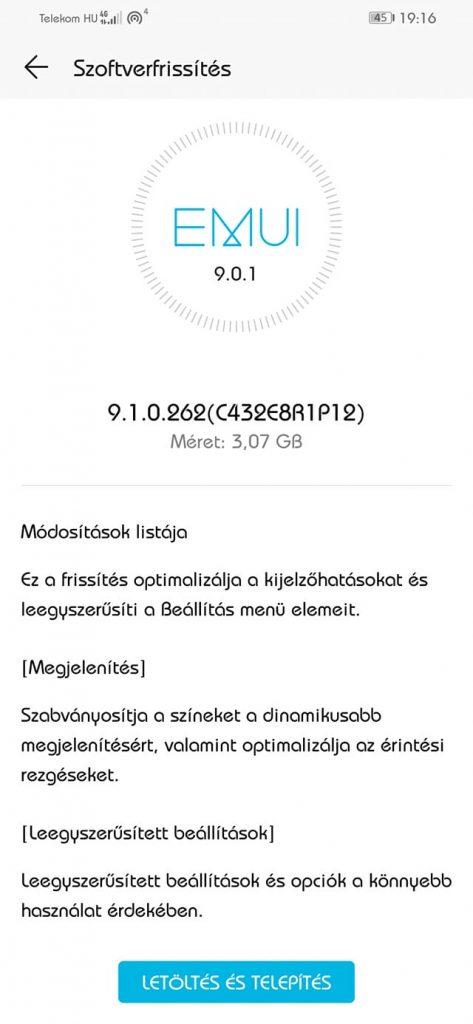 Elindult a Honor 10 Lite EMUI 9.1 frissítése