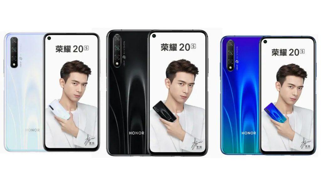 Itt az új Honor 20S