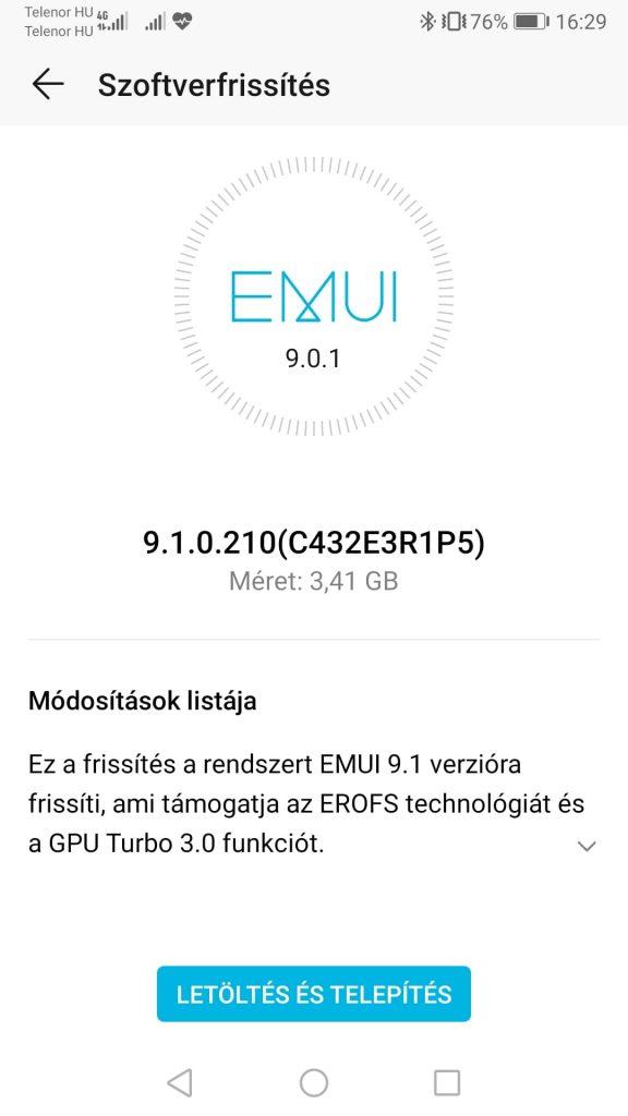 Még a Honor 8 Pro is kapott EMUI 9.1-et
