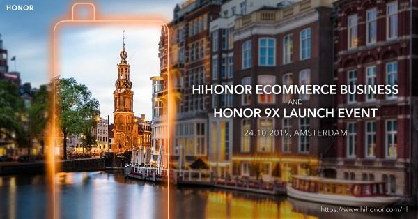 Európába jön a Honor 9X
