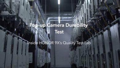 HONOR 9X Quality Test Lab: teszten a pop-up kamera