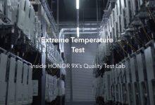 HONOR 9X Quality Test Lab: extrém hőmérsékletben is működnie kell