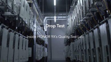 HONOR 9X Quality Test Lab: esés ellen is tesztelik