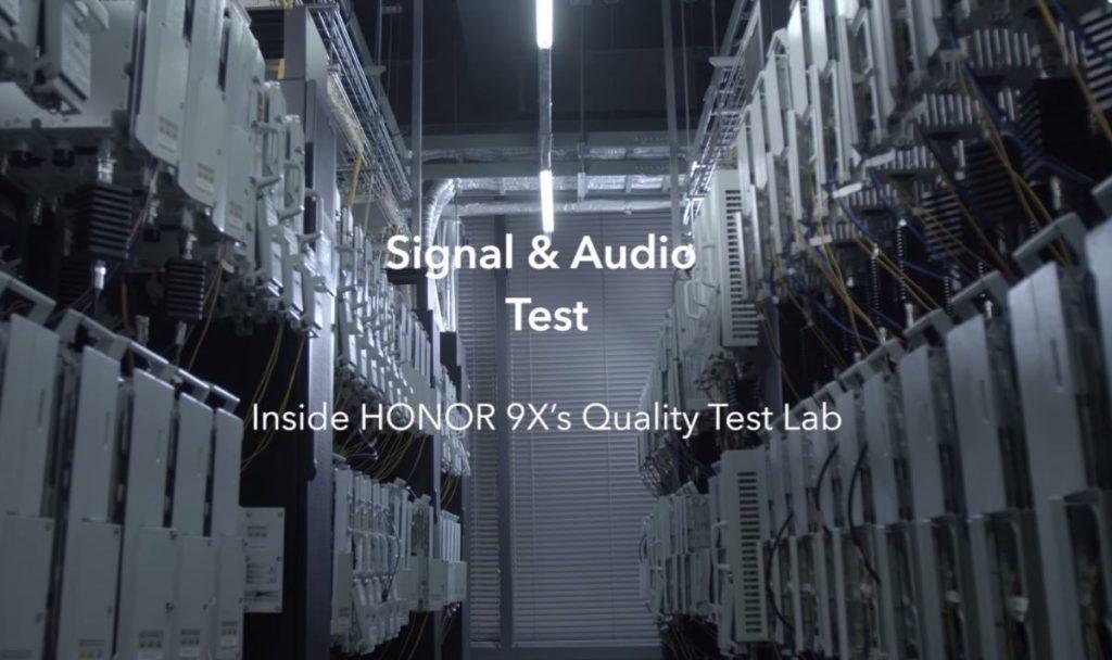 HONOR 9X Quality Test Lab: Audio és hálózati tesztek