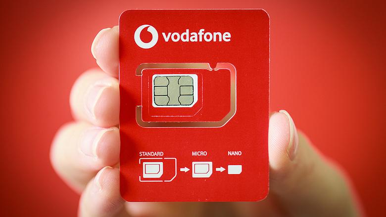 Megújulnak a Vodafone SIM kártyái
