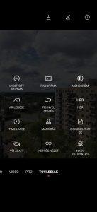 A Magic UI 3.1-ben eltűnik a kamera felbontás