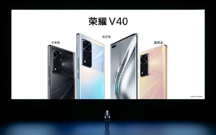 Itt a HONOR V40, az első telefon a Huawei kiválást követően